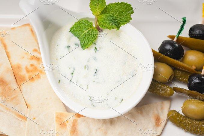 Greek Tzatziki yogurt dip 04.jpg - Food & Drink