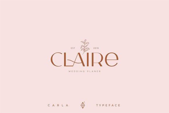 Carla Sans -Elegant Typeface in Sans-Serif Fonts - product preview 11