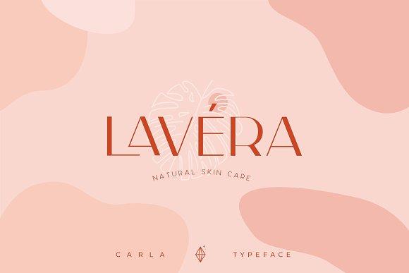Carla Sans -Elegant Typeface in Sans-Serif Fonts - product preview 12