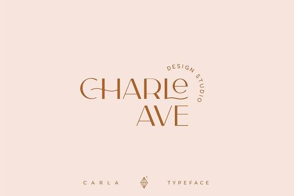 Carla Sans -Elegant Typeface in Sans-Serif Fonts - product preview 14