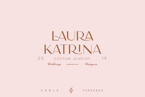 Carla Sans -Elegant Typeface in Sans-Serif Fonts - product preview 17