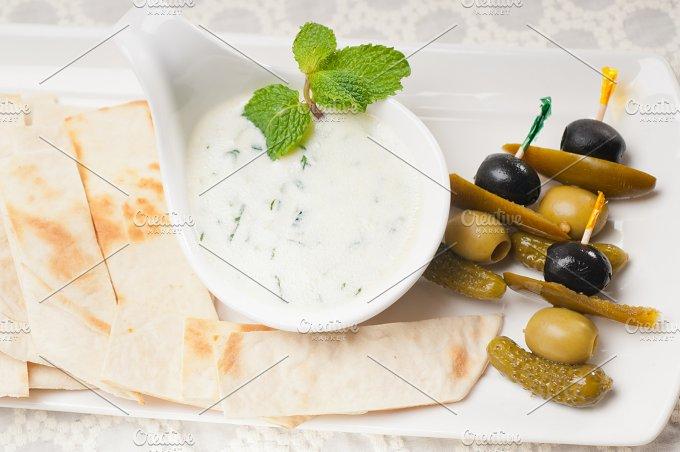 Greek Tzatziki yogurt dip 05.jpg - Food & Drink