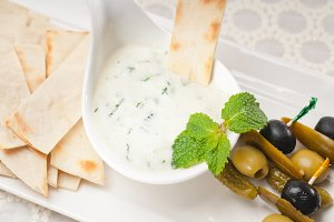Greek Tzatziki yogurt dip 07.jpg