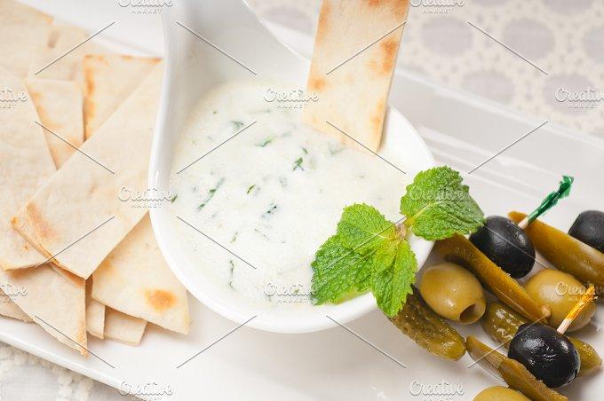 Greek Tzatziki yogurt dip 07.jpg - Food & Drink
