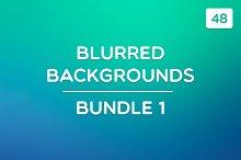 48 Blurred Backgrounds (Bundle 1)