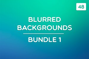 48 Blurred Backgrounds (Bundle 1)
