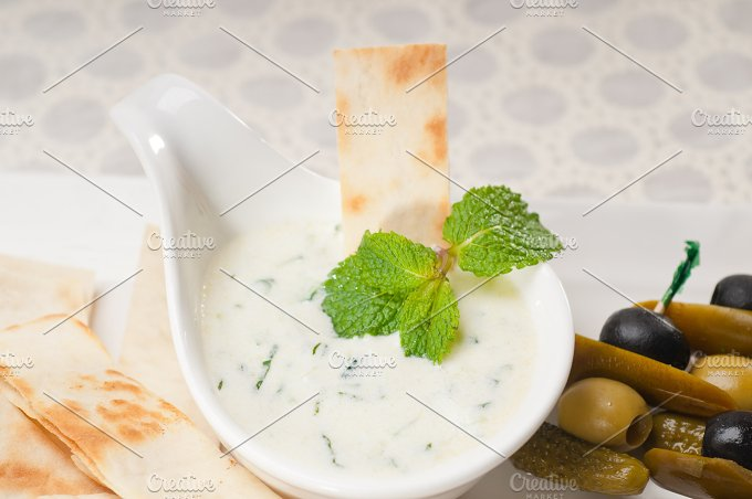 Greek Tzatziki yogurt dip 08.jpg - Food & Drink