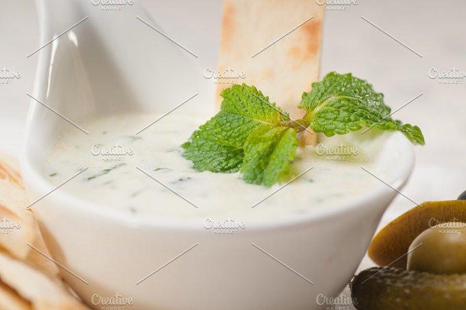 Greek Tzatziki yogurt dip 15.jpg - Food & Drink