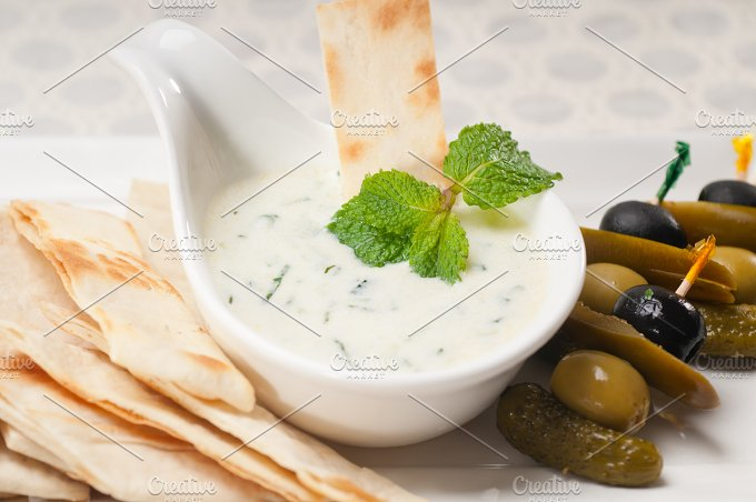 Greek Tzatziki yogurt dip 18.jpg - Food & Drink