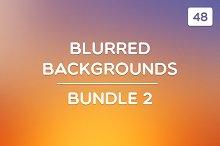 48 Blurred Backgrounds (Bundle 2)
