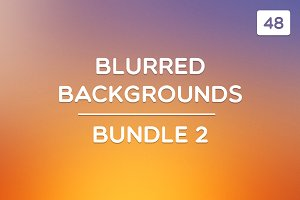48 Blurred Backgrounds (Bundle 2)