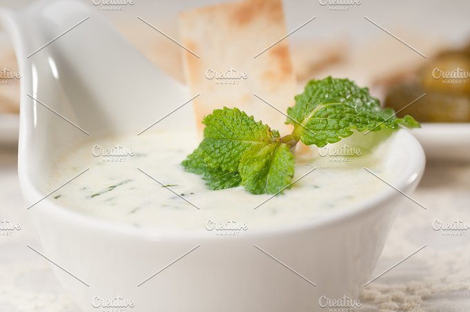 Greek Tzatziki yogurt dip 29.jpg - Food & Drink