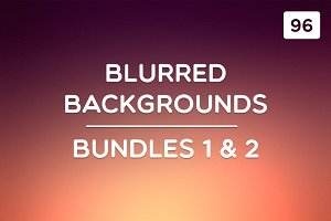 96 Blurred Backgrounds (Ult. Bundle)