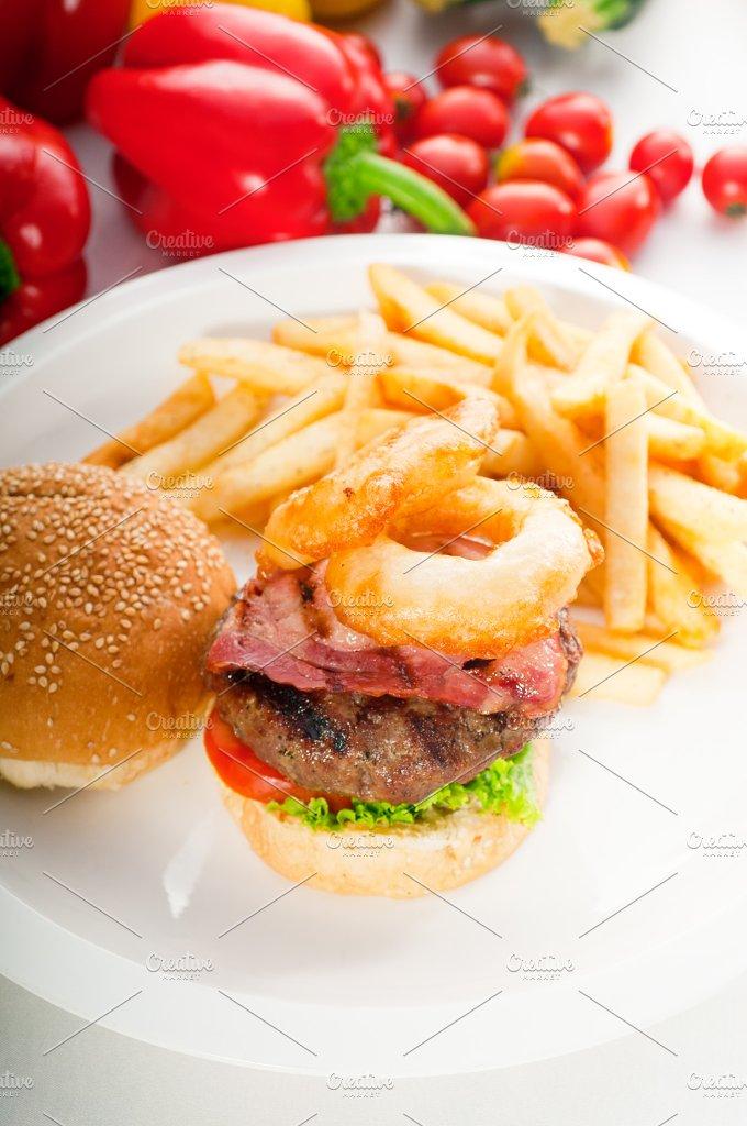 gorgeous hamburger sandwich 05.jpg - Food & Drink