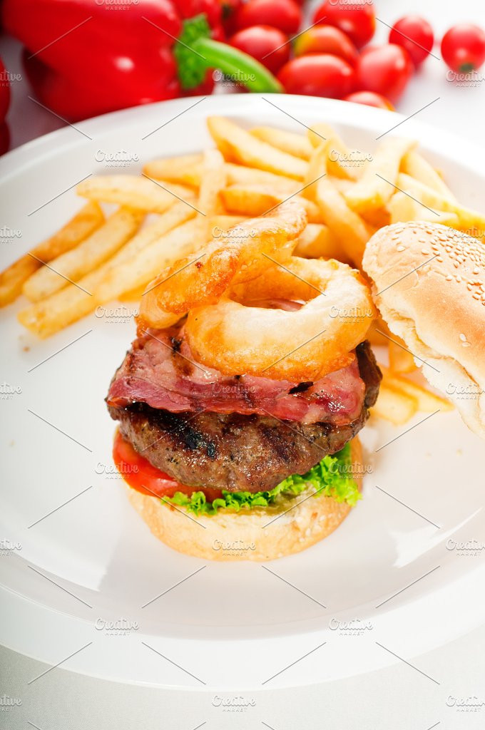 gorgeous hamburger sandwich 06.jpg - Food & Drink