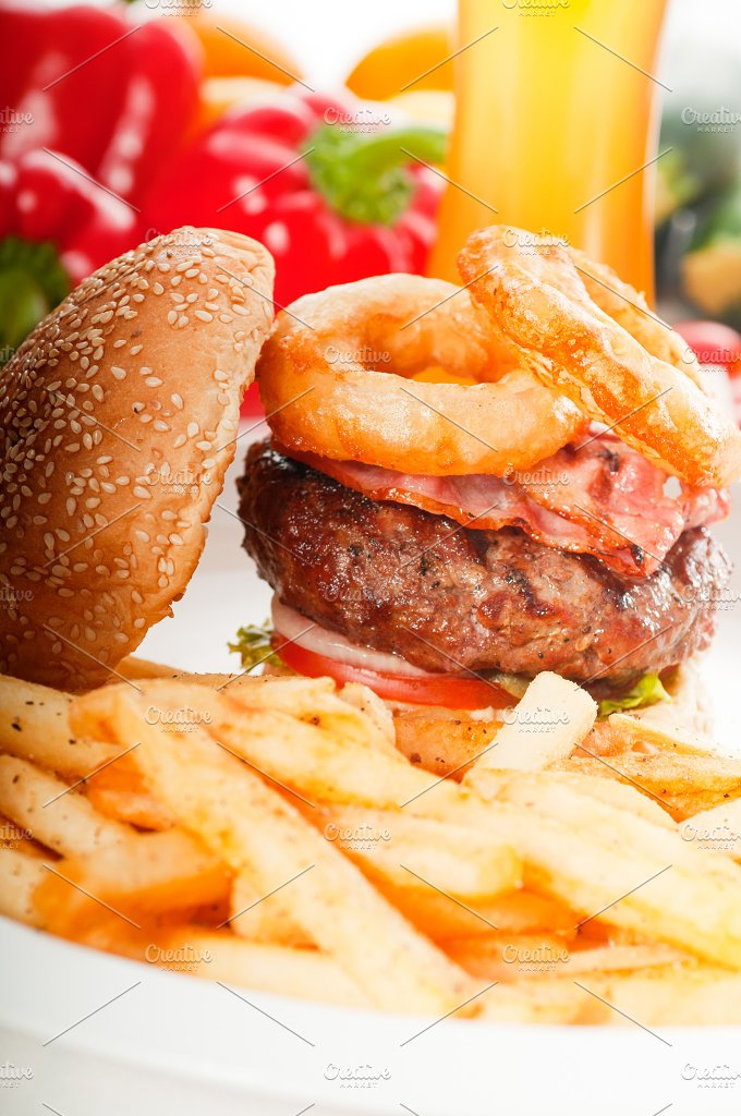 gorgeous hamburger sandwich 20.jpg - Food & Drink