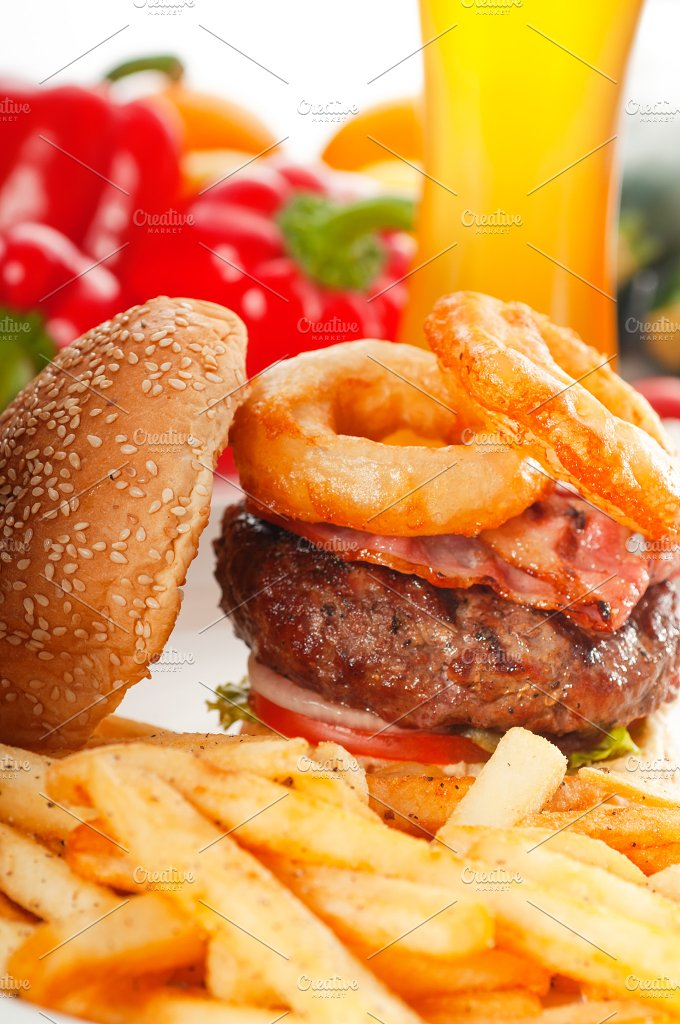gorgeous hamburger sandwich 22.jpg - Food & Drink