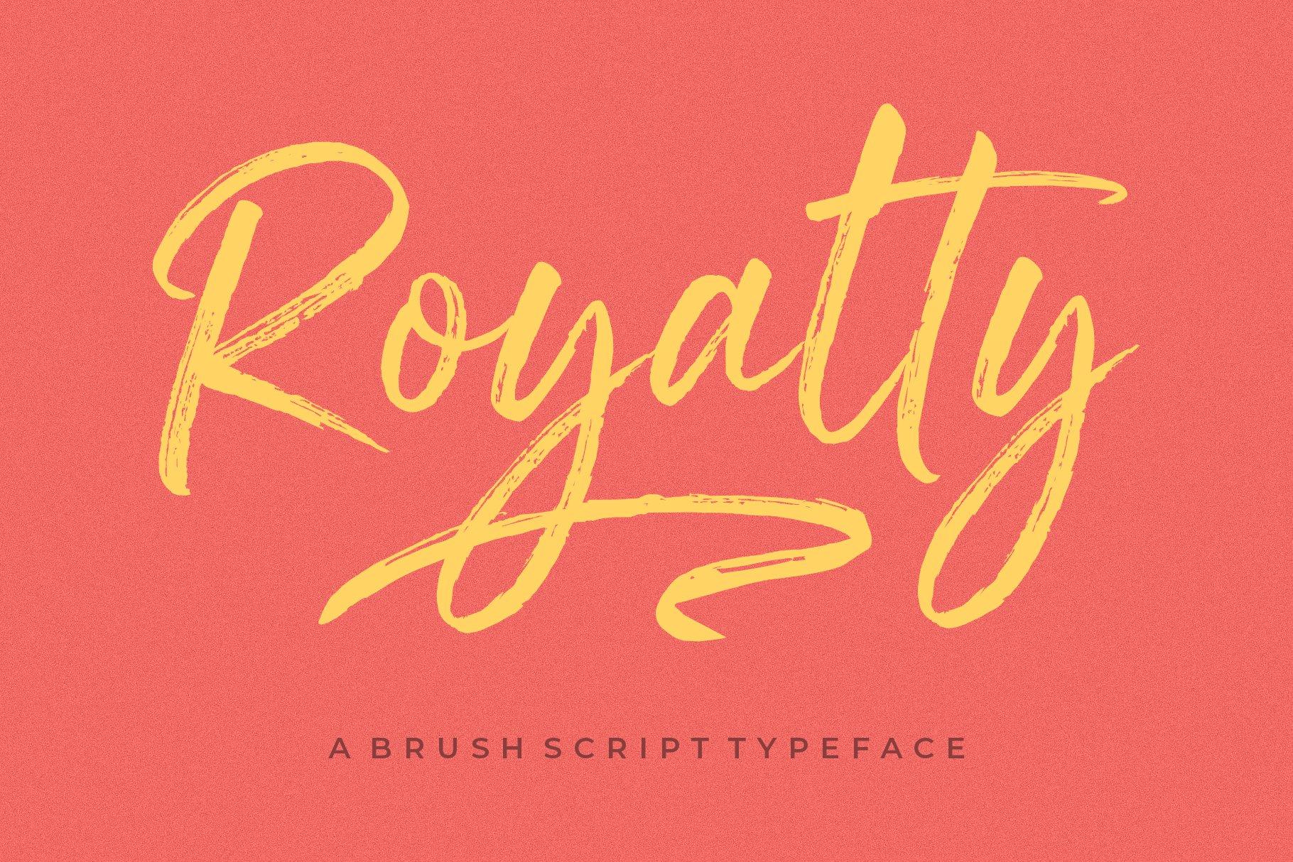 royalty font 2