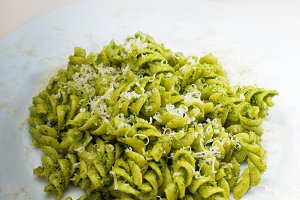 fusilli pasta and pesto sauce 4.jpg