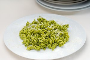 fusilli pasta and pesto sauce 6.jpg