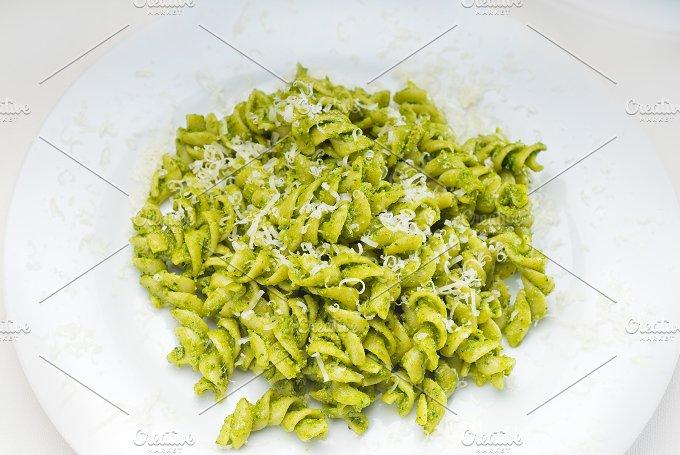 fusilli pasta and pesto sauce 5.jpg - Food & Drink