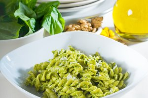 fusilli pasta and pesto sauce 12.jpg