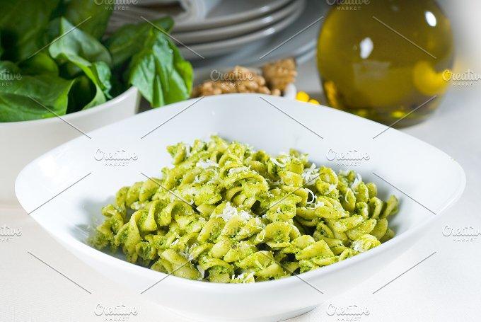 fusilli pasta and pesto sauce 14.jpg - Food & Drink