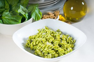 fusilli pasta and pesto sauce 13.jpg