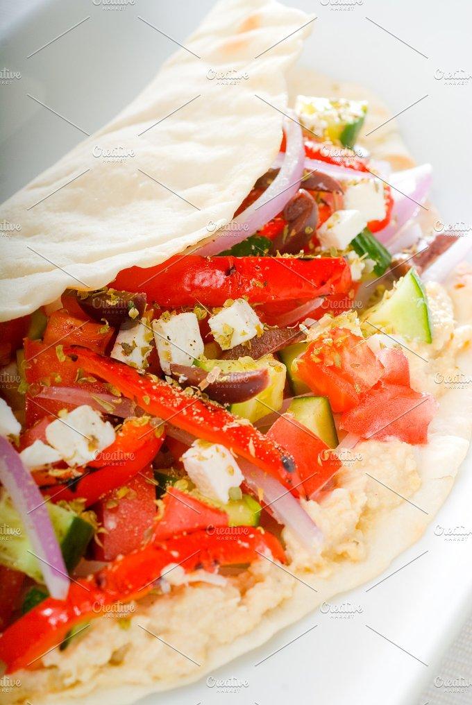 fresh salad wrap 6.jpg - Food & Drink