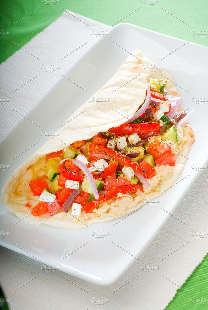 fresh salad wrap 7.jpg - Food & Drink