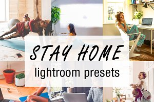 stay home lightroom preset
