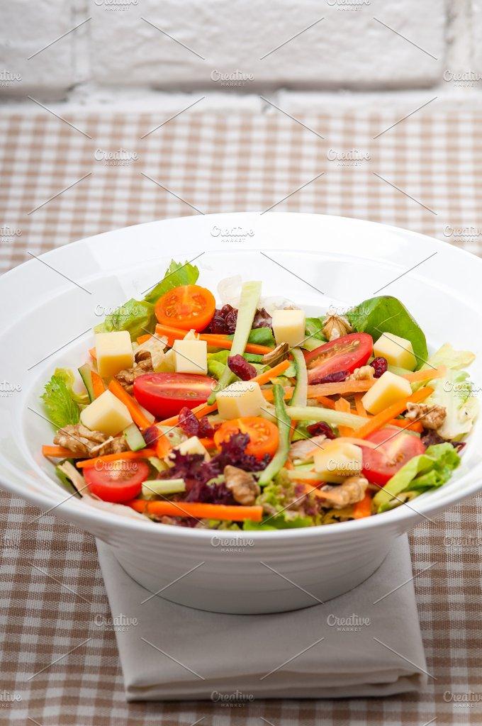 fresh healthy colorful mixed salad 01.jpg - Food & Drink