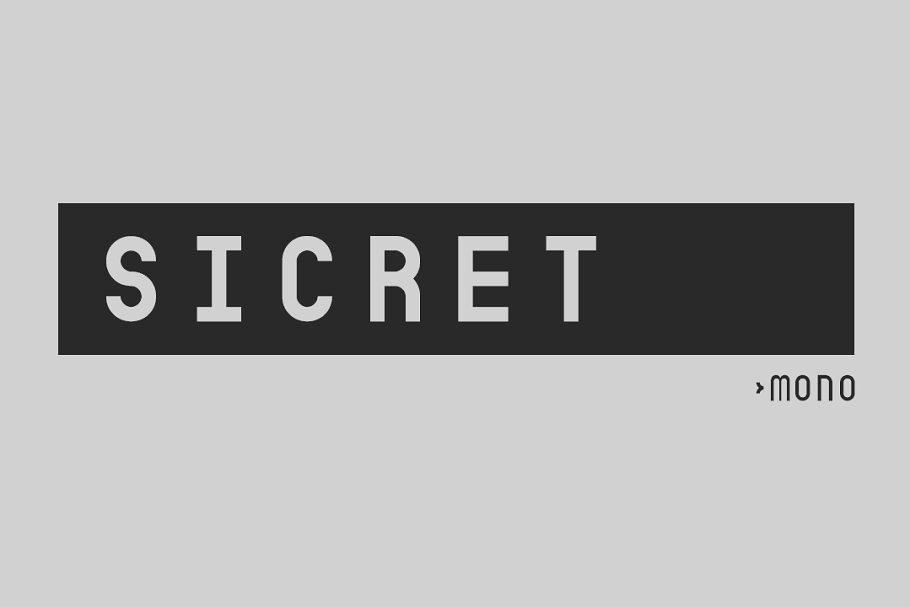Sicret Mono
