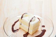fresh cream cake with chocolate sauce 13.jpg