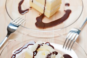 fresh cream cake with chocolate sauce 13.jpg