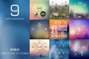 9 Dubai infographics