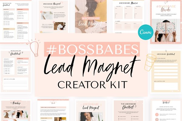 Lead Magnet Creator for Canva