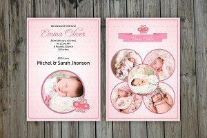 Birth Announcement Template-V04
