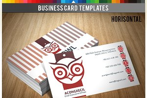 Premium Business Card - Tag Owl