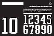 The Franchise Numeral Set
