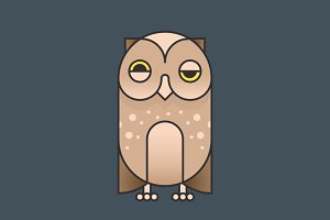 Simply Animals / Owl