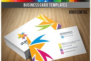 Premium Business Card - Star Spin v1