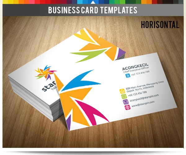 Premium business card taxi point business card templates premium business card star reheart Images