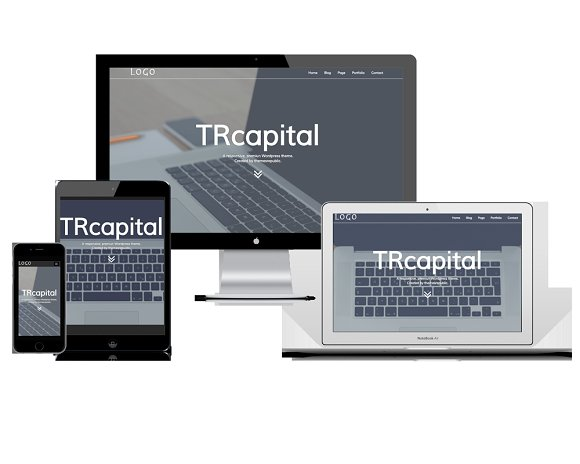 TRcapital-responsive wordpress theme in WordPress Business Themes - product preview 2