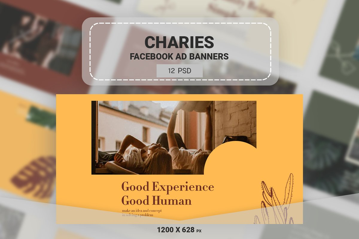 Charies Facebook Ads Banners