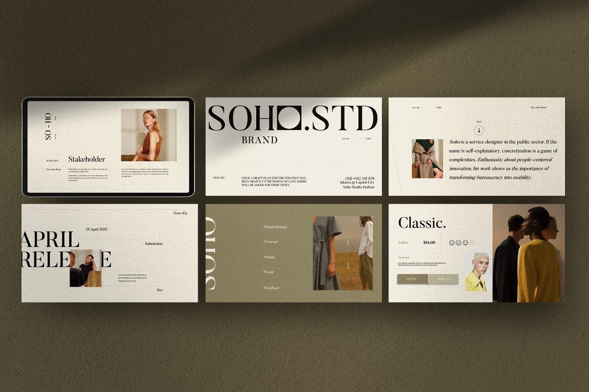 Soho - Google Slides
