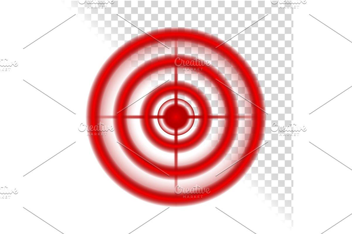 Aim Target Circle Pain Localization