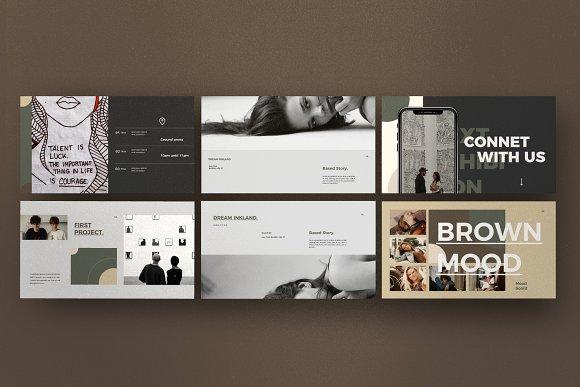 Portfolio Lookbook - Google Slide in Google Slides Templates - product preview 2