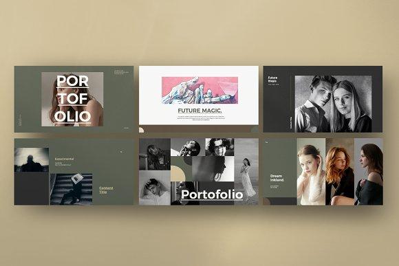 Portfolio Lookbook - Google Slide in Google Slides Templates - product preview 3