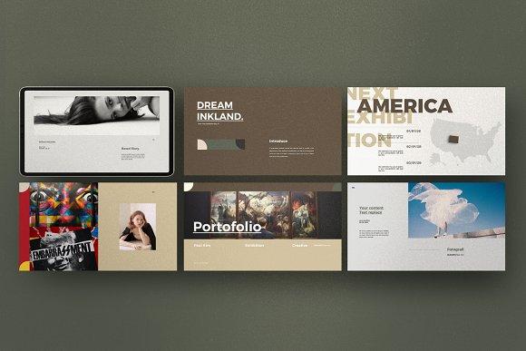 Portfolio Lookbook - Google Slide in Google Slides Templates - product preview 4